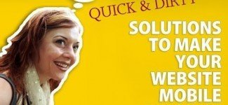 Make Website Mobile Friendly : Quick Solutions
