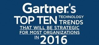 Gartner Top 10 Hot Technology Trends for 2016