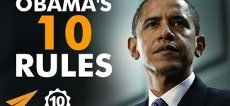 Barack Obama's Top 10 Rules : For Success