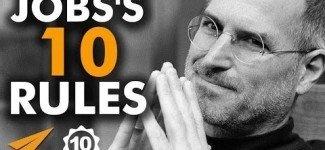 Steve Jobs's Success Rules : Top 10 Rules