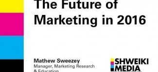 Marketing Future : The Future of Marketing 2016