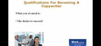 Become Copywriter Working Home