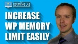 WordPress Memory Limit Increase | WP Learning