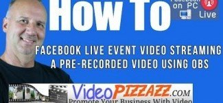 Facebook Live Event Video Streaming