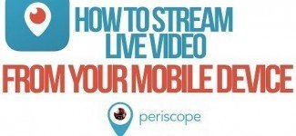 Live Video Streaming Using Periscope