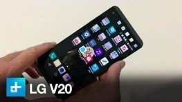 LG V20 – Hands On – IFA 2016