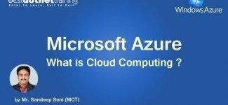 Cloud Computing Microsoft Azure Tutorial