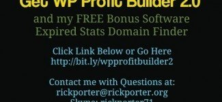 Profit Builder 2.0 Bonus and Walk-Through Review