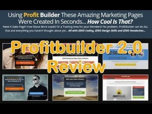 Profitbuilder 2.0 demo 2017, Why buy Profitbuilder 2.0 demo 2017, http://myonlinebiz4u2.com. With Profitbuilder 2.0 in just a few clicks you can easily build any type of marketing. And also all the lead pages you can imagine with Zero coding. http://myonlinebiz4u2.com, Does Profitbuilder 2.0 really help make money online?