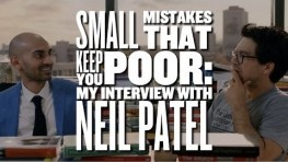 Neal Patel's Accelerator Program – Small Mistakes That Keep You Poor