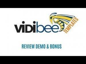 VIDIBEE Review Demo - 222 Instant Animated Video Templates, http://myonlinebiz4u2.com
