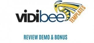 VIDIBEE Review Demo – 222 Instant Animated Video Templates